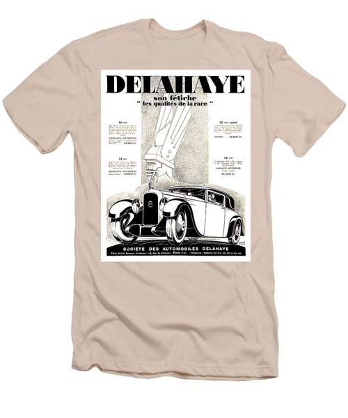 1928 - Delehaye Automobile Advertisement Men's T-Shirt (Athletic Fit)