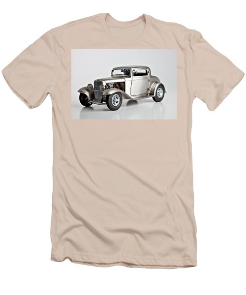Men's T-Shirt (Slim Fit) featuring the photograph 1932 Ford 3 Window Coupe by Gianfranco Weiss