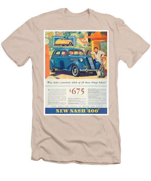 1936 - Nash Sedan Automobile Advertisement - Color Men's T-Shirt (Athletic Fit)