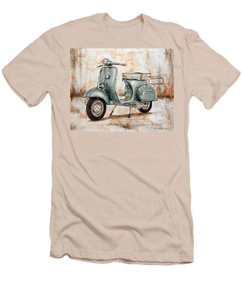 1959 Douglas Vespa Men's T-Shirt (Slim Fit) by Joey Agbayani