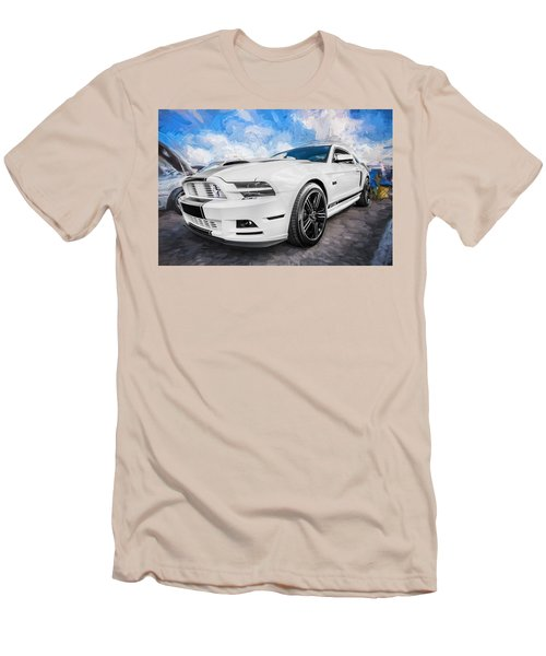 2014 Ford Mustang Gt Cs Painted  Men's T-Shirt (Athletic Fit)