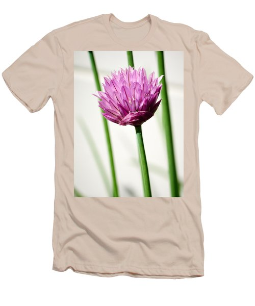 Chives Men's T-Shirt (Slim Fit) by Jouko Lehto