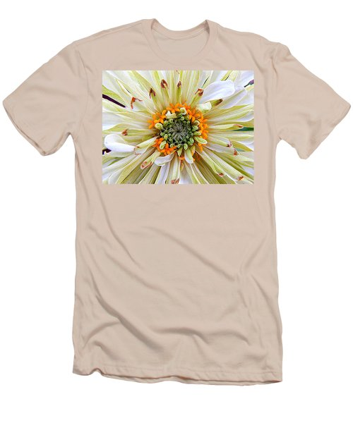 Chrysanthemum Fall In New Orleans Louisiana Men's T-Shirt (Slim Fit) by Michael Hoard