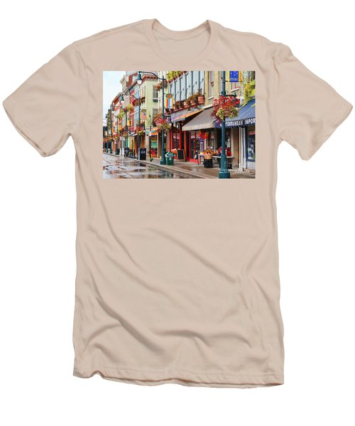 Findlay Market In Cincinnati 0009 Men's T-Shirt (Athletic Fit)