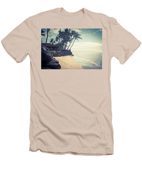 Men's T-Shirt (Athletic Fit) featuring the photograph Kihei Maui Hawaii by Sharon Mau