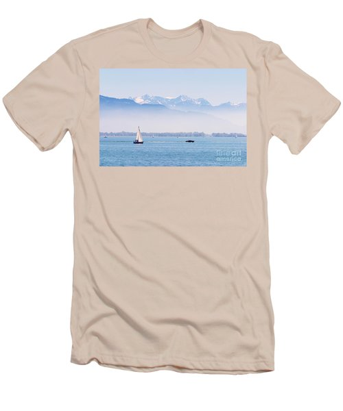 Lake Of Constance Men's T-Shirt (Athletic Fit)