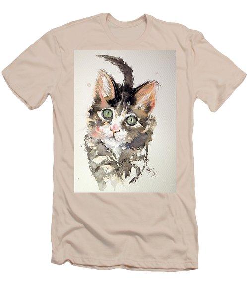 Little Cat Men's T-Shirt (Athletic Fit)