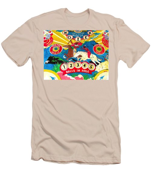 Native Pinball Men's T-Shirt (Athletic Fit)
