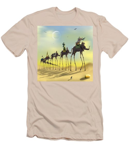 On The Move Men's T-Shirt (Slim Fit) by Mike McGlothlen