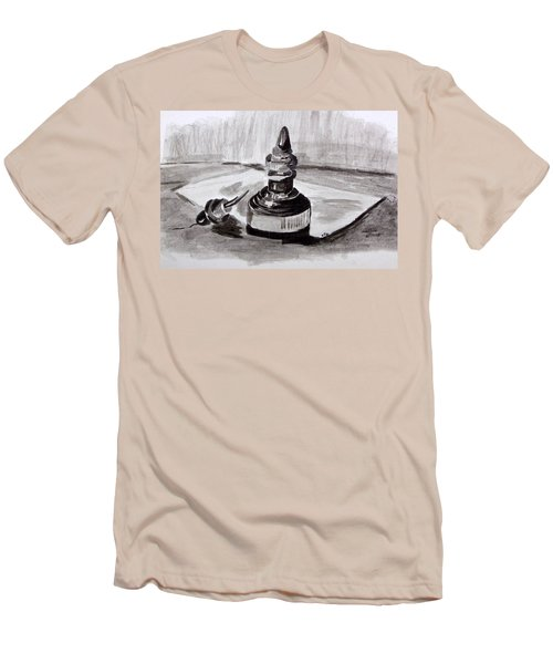 Pen And Ink Men's T-Shirt (Athletic Fit)