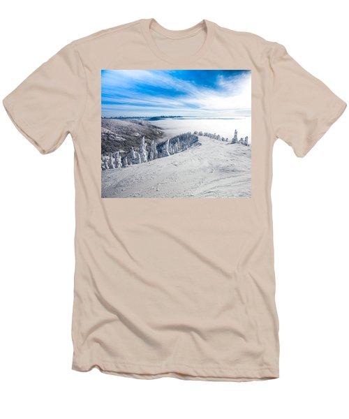 Ridgeline Men's T-Shirt (Slim Fit) by Aaron Aldrich