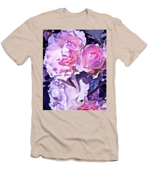 Rose 60 Men's T-Shirt (Slim Fit) by Pamela Cooper