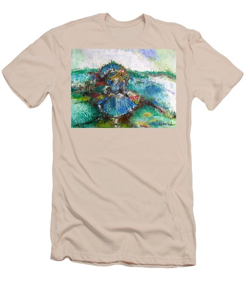 Roses For My Mother Men's T-Shirt (Slim Fit) by Laurie L