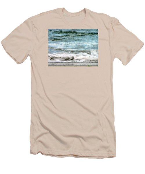 Sea Men's T-Shirt (Slim Fit) by Oleg Zavarzin