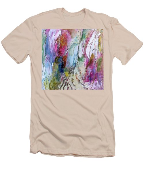Under The Ice Of Venus Men's T-Shirt (Slim Fit) by Bellesouth Studio
