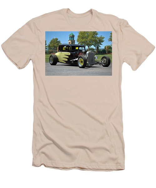 1930 Ford Coupe Hot Rod Men's T-Shirt (Slim Fit) by Tim McCullough