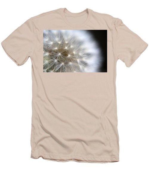 Dandelion Backlit Close Up Men's T-Shirt (Athletic Fit)