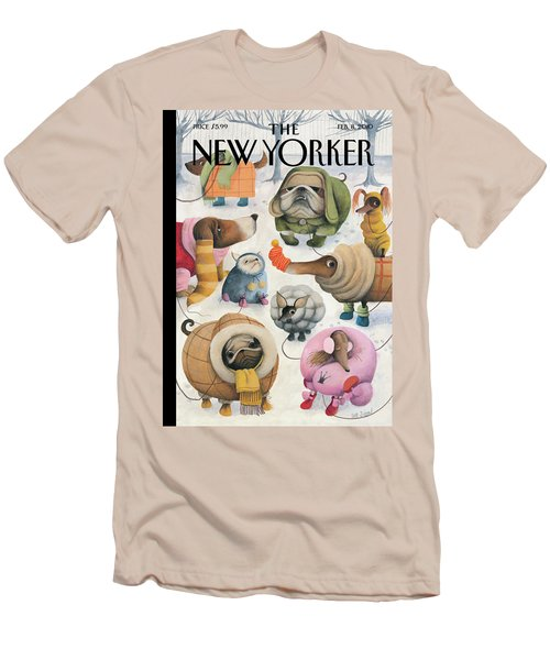 New Yorker February 8th, 2010 Men's T-Shirt (Athletic Fit)