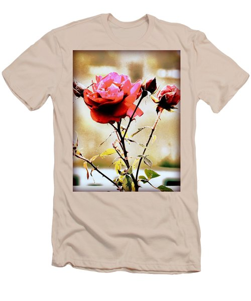 Men's T-Shirt (Slim Fit) featuring the photograph 40 Something by Faith Williams