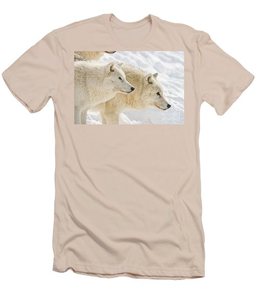 Arctic Wolves Men's T-Shirt (Athletic Fit)
