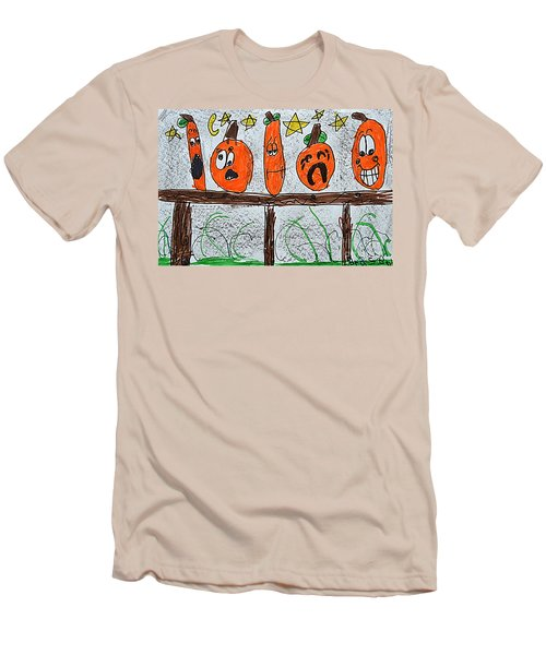 5 Little Pumpkins Men's T-Shirt (Athletic Fit)