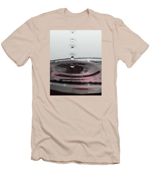 5 Water Drops Men's T-Shirt (Athletic Fit)