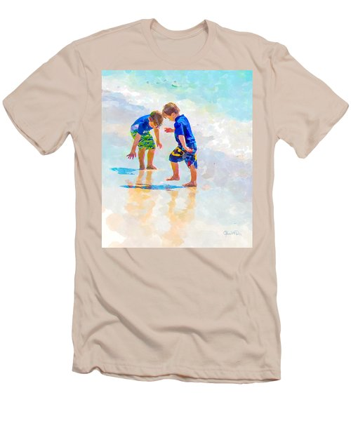 A Summer To Remember Iv Men's T-Shirt (Slim Fit) by Susan Molnar