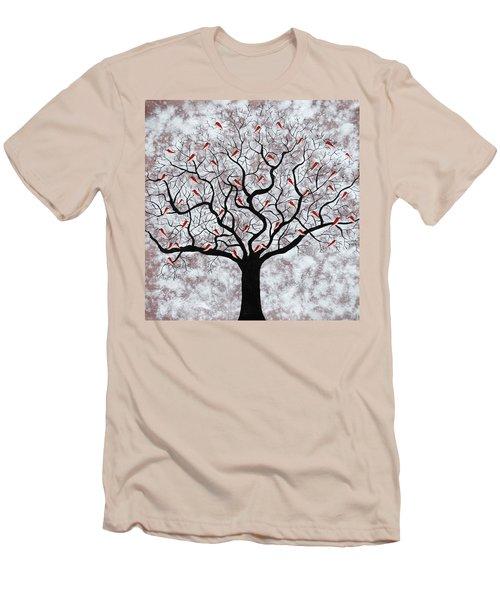 About To Rain Men's T-Shirt (Slim Fit) by Sumit Mehndiratta