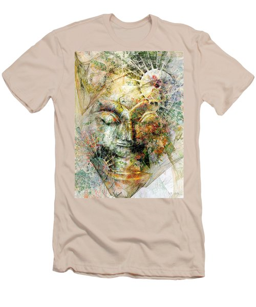 Abstraction 482-10-13 Marucii Men's T-Shirt (Athletic Fit)