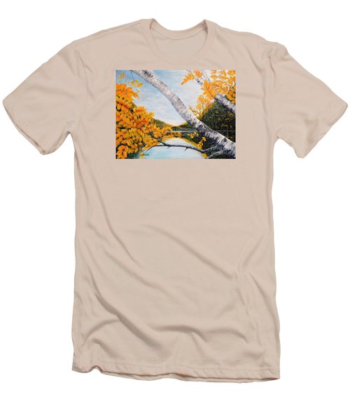 Adirondacks New York Men's T-Shirt (Athletic Fit)