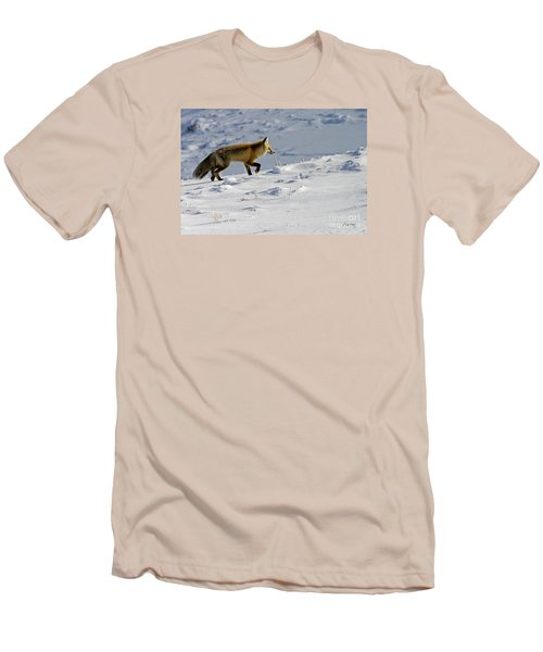 Men's T-Shirt (Slim Fit) featuring the photograph Against The Glare-signed by J L Woody Wooden