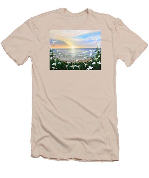 Alcatraces Men's T-Shirt (Slim Fit) by Angel Ortiz