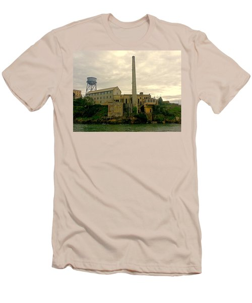 Alcatraz From The West Men's T-Shirt (Athletic Fit)