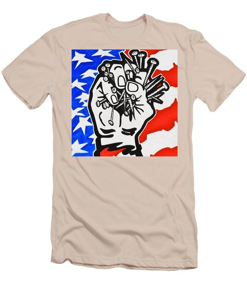 The Price Of Liberty Men's T-Shirt (Slim Fit) by Yelena Tylkina