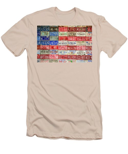 American Transportation Men's T-Shirt (Athletic Fit)