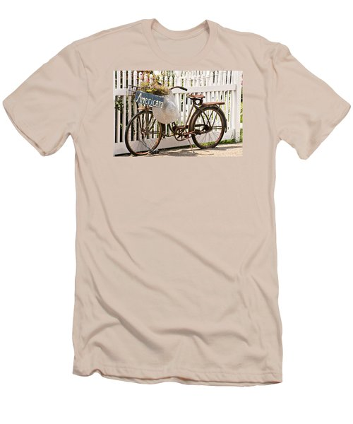 Americana Men's T-Shirt (Slim Fit) by Art Block Collections