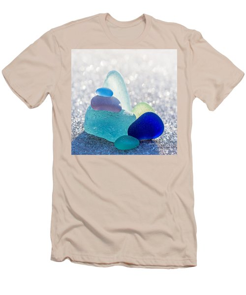 Arctic Peaks Men's T-Shirt (Athletic Fit)