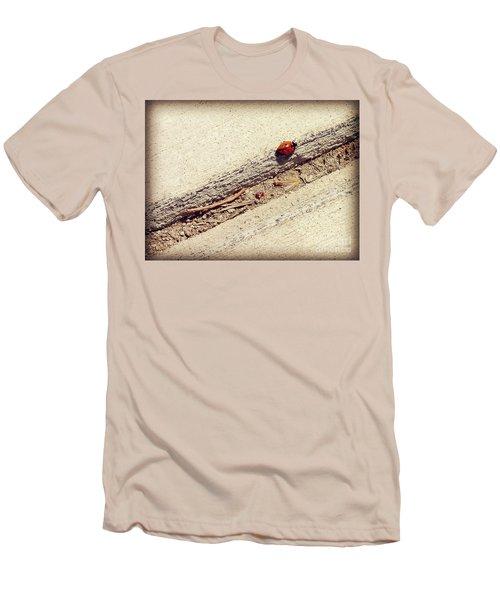Arduous Journey Men's T-Shirt (Slim Fit) by Meghan at FireBonnet Art