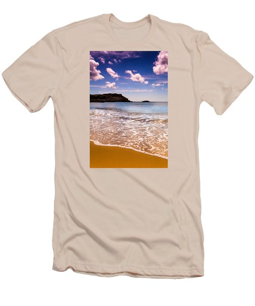 Around The Sea Men's T-Shirt (Slim Fit) by Edgar Laureano
