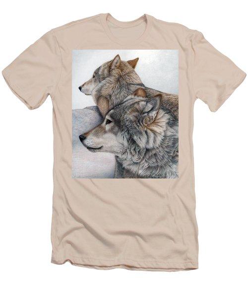 At Rest But Ever Vigilant Men's T-Shirt (Slim Fit) by Pat Erickson