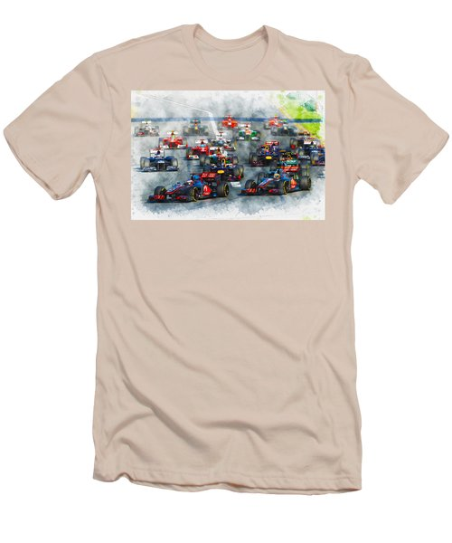 Australian Grand Prix F1 2012 Men's T-Shirt (Athletic Fit)