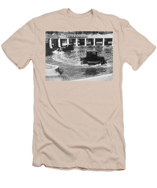 Auto Wash Bowl Men's T-Shirt (Athletic Fit)