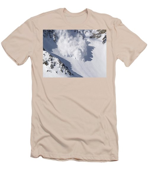 Avalanche IIi Men's T-Shirt (Slim Fit) by Bill Gallagher