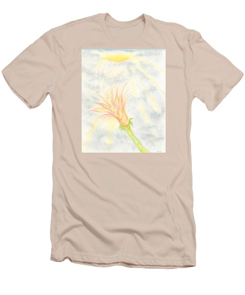 Men's T-Shirt (Slim Fit) featuring the drawing Awakening by Kim Sy Ok