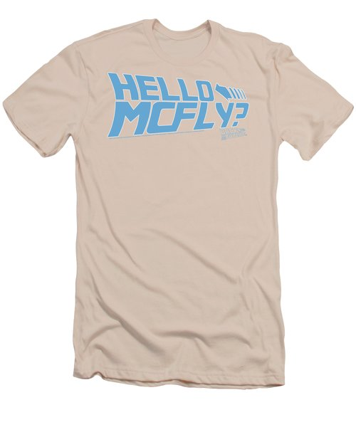 Back To The Future - Hello Mcfly Men's T-Shirt (Athletic Fit)