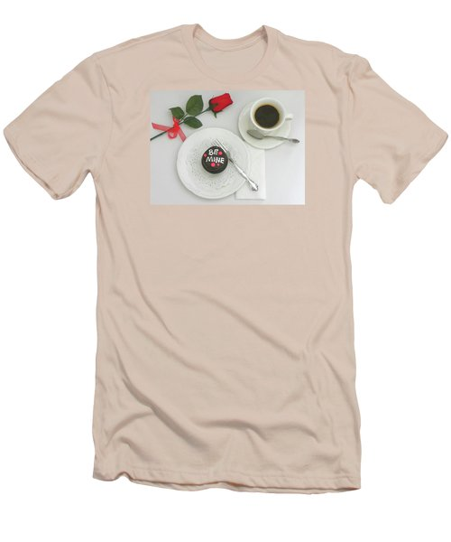 Men's T-Shirt (Slim Fit) featuring the photograph Be Mine by Sandi OReilly