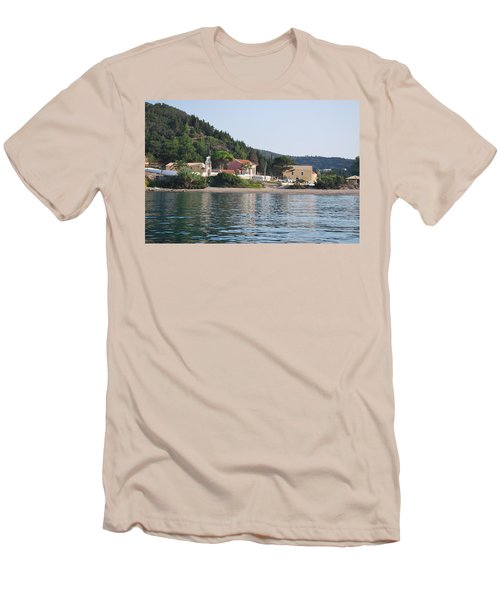 Beach 5 Men's T-Shirt (Athletic Fit)