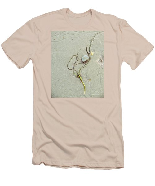 Beach Arrangement 5 Men's T-Shirt (Slim Fit) by Marcia Lee Jones