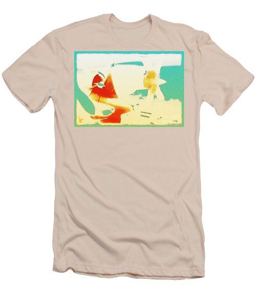 Men's T-Shirt (Slim Fit) featuring the photograph Fixed Wing Aircraft Poster by R Muirhead Art