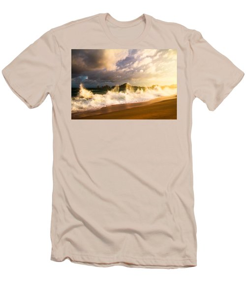 Men's T-Shirt (Slim Fit) featuring the photograph Before The Storm by Eti Reid